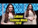Aditi Rao Hydari बनी Showstopper Designer Payal Singhal के लिए | Lakmé Fashion Week