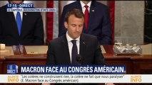 """Macron: """"Avec Trump, nous contribuerons à la création d'un ordre mondial du 21e siècle pour le bien de nos concitoyens"""""""