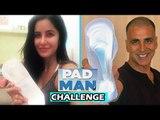 Salman की Tigress Katrina Kaif ने किया Sanitary Pad के साथ POSE | Padman Challenge