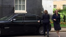 Cabinet members arrive at Downing Street