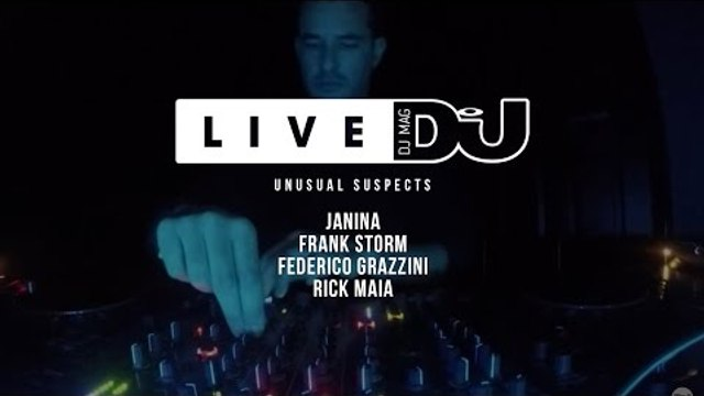 DJ Mag Live Presents Unusual Suspects w/ Janina & More (DJ Sets)