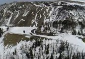 Gorgeous View of Montana's Beartooth Highway Seen in Drone Footage