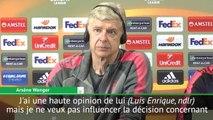 Transfert - Wenger a ''une haute opinion'' de Luis Enrique