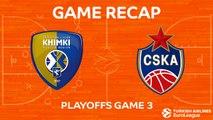 Highlights: Khimki Moscow region -  CSKA Moscow