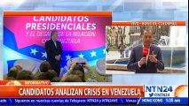 Candidatos a la presidencia de Colombia analizaron en un foro la crisis en Venezuela