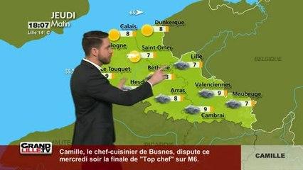 Les Prévisions Météo du 26 Avril 2018 (Lille)