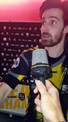 Handball   Interview : Baptiste Malfondet après Chambéry-Cesson (32-24)