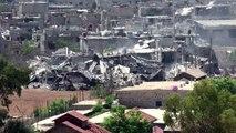 الجيش السوري يواصل حملته العسكرية على مخيم اليرموك