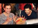 Aamir Khan Wishes Shahrukh Khan On His 50th Birthday