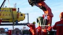 Sumergible chino de aguas profundas regresa a casa