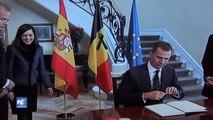 Condolencias de reyes de España por atentado en Bélgica