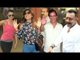 Bollywood Celebs MEETS Sanjay Dutt After Release From Jail