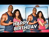 Priyanka Chopra WISHES Baywatch Co Star Dwayne Johnson On His Birthday