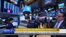 Los mercados asiáticos caen influidos por las pérdidas de Wall Street