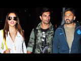 Bipasha Basu, Karan Singh Grover, Suniel Shetty | Airport Spotting 01st July 2016