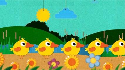 Five Little Ducks Song YouTube Videos for Children | Song for Kids & Nursery Rhymes - KidsMegaSongs