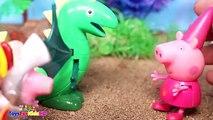 Peppa la Cerdita y Videos de Dinosaurios para niños ✨Capítulos de Peppa Pig en español