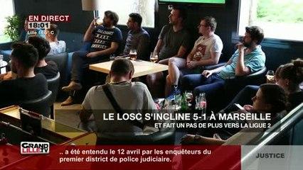 Le LOSC s'incline face à Marseille
