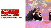 Nadia Toffa - discorso in diretta a Le Iene