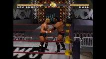 WCW Nitro Lex Luger vs Scott Hall