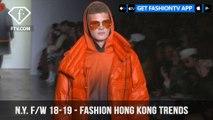 Fashion Hong Kong Trends New York Fashion Week Fall/Winter 2018-19 | FashionTV | FTV