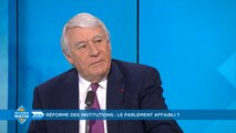"""Réforme des institutions : """"Gérard Larcher fait beaucoup de concessions, il en fait trop ! Nous allons avoir un débat très difficile"""""""