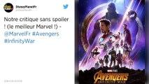 """""""Avengers: Infinity War"""". Belle armée de superhéros mais une guerre un peu longuette."""
