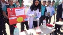 Öğrenciler, Siverek'te bitmeyen altyapı sorunlarından esinlenerek proje hazırladı- Öğrencilerin bilim fuarında sergilediği proje yoğun ilgi gördü