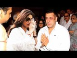 Salman Khan CONSOLES Shilpa Shetty After Her Father's Passes Away
