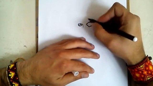 COMO DIBUJAR A DEADSHOT -SUICIDE SQUAD / how to draw deadshot - suicide squad
