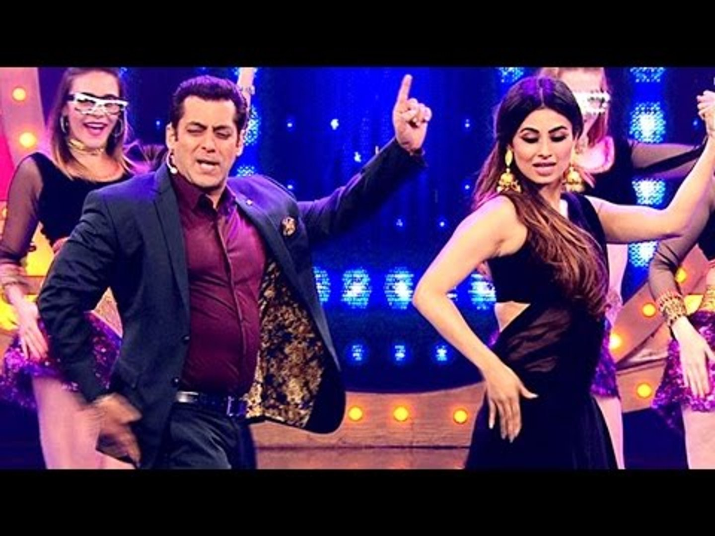 Salman Khan SIZZLES With Mouni Roy On BABY KO BASS PASAND HAI | BIGG BOSS 10