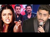 Abhishek Bachchan REJECTS Working With Aishwarya Rai, Shahrukh Khan & Salman Khan TURNS Scriptwriter
