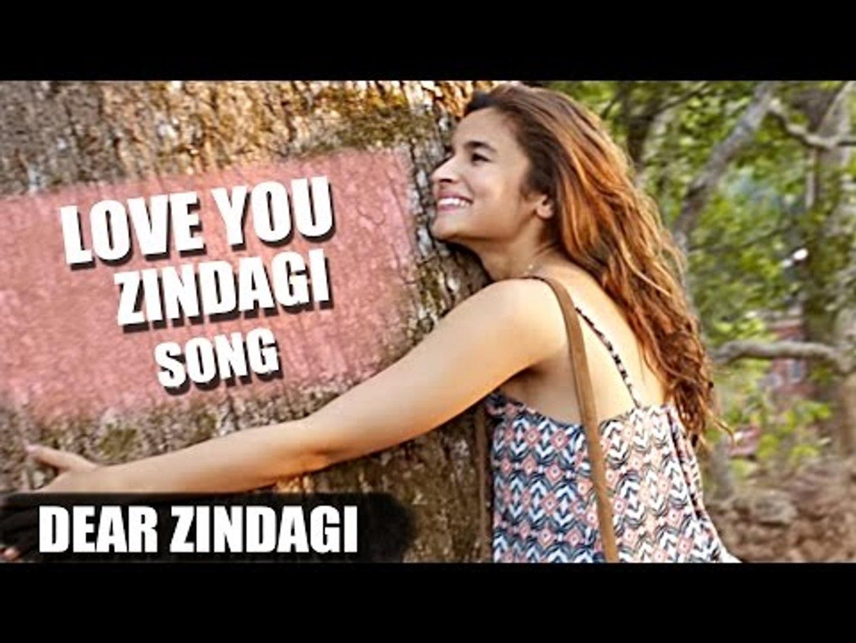 Love You Zindagi Song Releases | Dear Zindagi | Shahrukh, Alia Bhatt