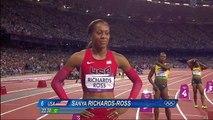Allyson Felix Wins Womens 200m Gold - London new Olympics