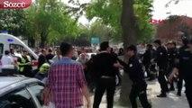 Gazi Üniversitesi Edebiyat Fakültesi'ndeki eyleme biber gazlı müdahale
