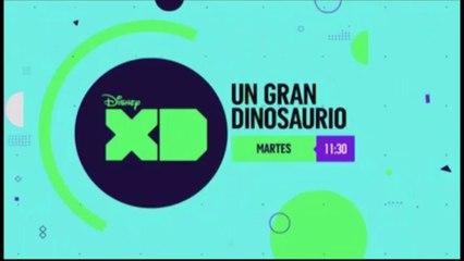 """PROMO """"UN GRAN DINOSAURIO"""" (01-05-2018) EN DISNEY XD"""