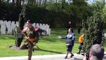 Comines-Warneton : Les Néo-Zélandais ont rendu hommage aux soldats tués pendant la Première Guerre Mondiale