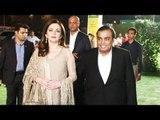 Mukesh Ambani With Nita Ambani At Ronnie Screwvala's Daughter's Wedding