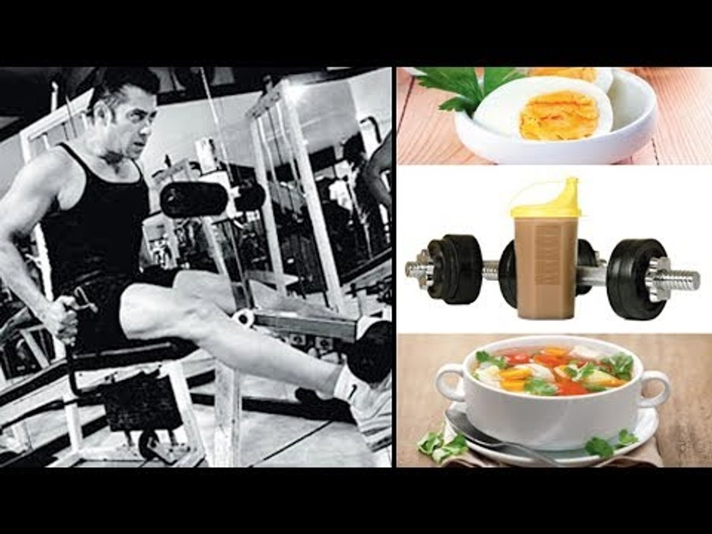 Salman Khan's HEAVY Daily Diet & Workout Routine - Revealed