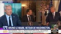"""Pour Le Maire, Macron a eu """"le courage"""" de montrer son """"désaccord sur le climat"""" lors de son discours au congrès"""