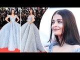Cannes 2017   Aishwarya Rai Turns Cinderella At The Red Carpet