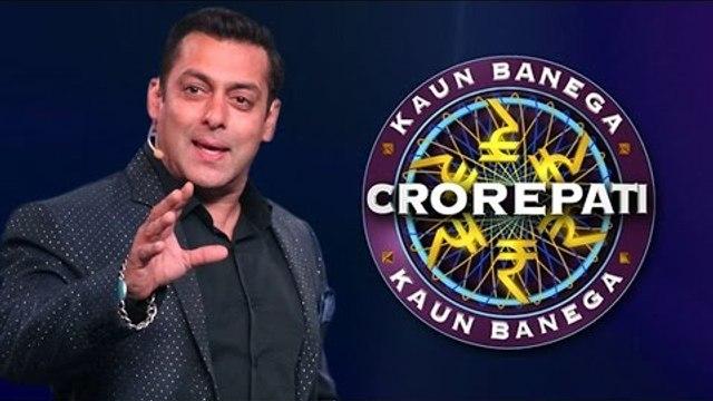 Salman Khan Signed Kaun Banega Crorepati ?