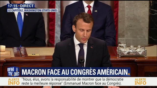 Macron « Avec Trump, nous contribuerons à la création d'un ordre