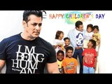 Salman Khan's Children's Day 2017 Celebration With KIDS - BEING HUMAN