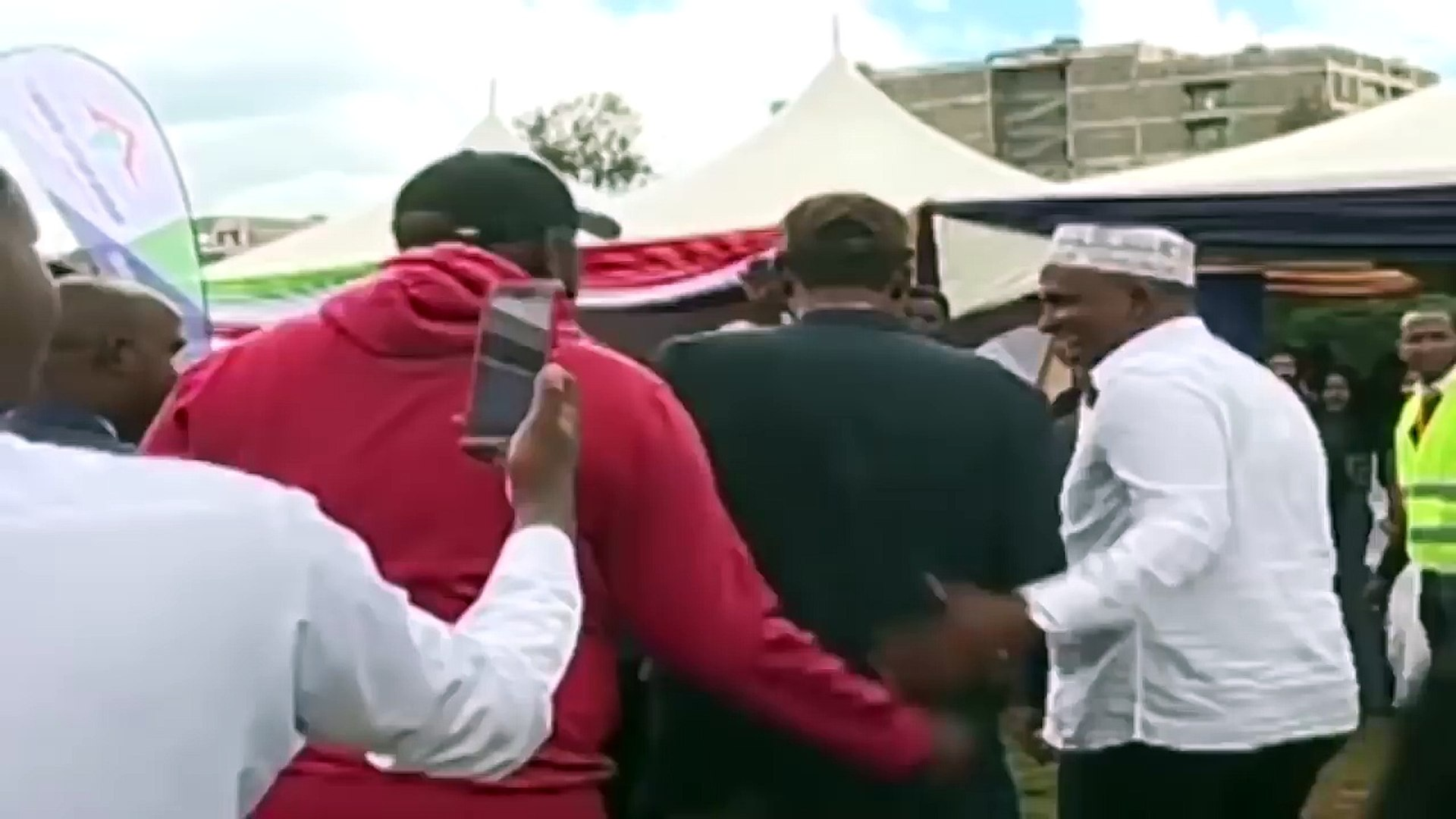 BREAKING NEWS: MIGUNA MIGUNA IS BACK Officially in KENYA (Jubilee Leaders say is Kenyan)