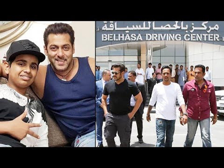 Salman Khan Launches Belhasa Driving Centre In Dubai Video