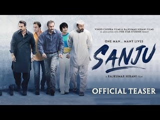 Sanju | Official Teaser OUT | Ranbir Kapoor | Rajkumar Hirani