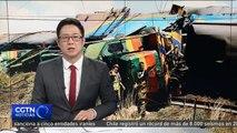 Al menos 18 muertos y 239 heridos por el choque de un tren con un camión en Sudáfrica