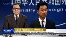 China intenta mantener sus relaciones amistosas con el país