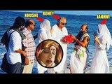 SRIDEVI Family In Rameshwaram IMMERSED Her Ashes, Jhanvi Kapoor, Khushi, Boney Kapoor